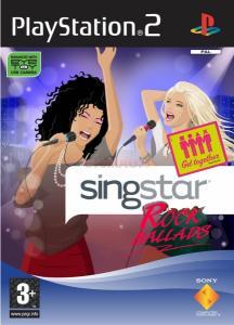 Singstar rock ballads ps2