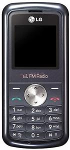 LG - Telefon Mobil KP105 (Negru)