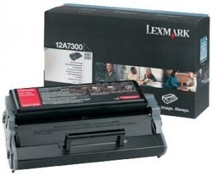 Lexmark toner 12a7300 (negru)