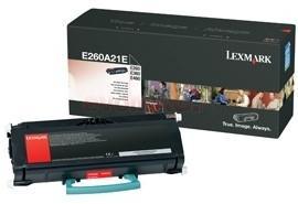 Lexmark toner e260a21e (negru)