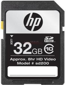HP -  Card Memorie SDHC 32GB Class 10