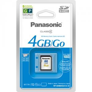 Panasonic card sd 4gb