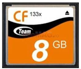 Card compact flash 8gb (133x)