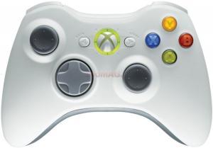Microsoft -   Gamepad Microsoft XBOX 360 Wireless Controller (Alb)