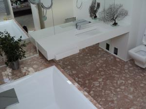 PACIFIC-Amenajare baie din material compozit-Corian