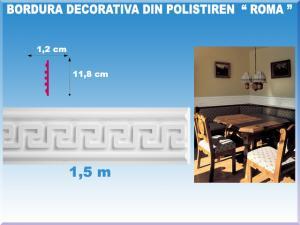 Borduri decorative din beton