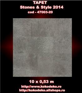 Tapet baie si bucatarii Stones & Style cod 47003-20