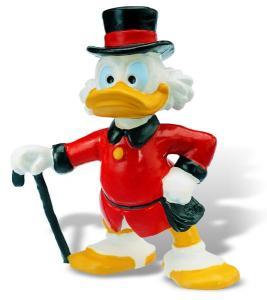 Ratoiul Donald cu joben si baston