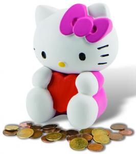 Pusculita Hello Kitty
