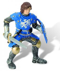 Printul Iron cu  armura albastra