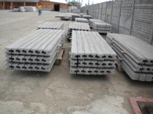 Stilpi de gard din beton