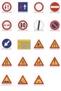 Indicatoare temporare indicatoare rutiere