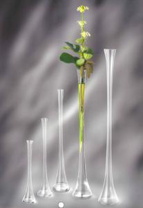 Vaze de sticla transparenta