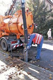 Desfundare instalatii canalizare