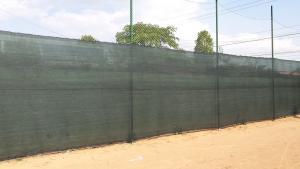 Plasa delimitare verde, plasa gard