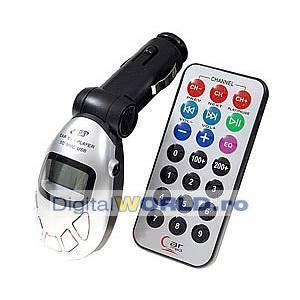 Modulator fm cu telecomanda