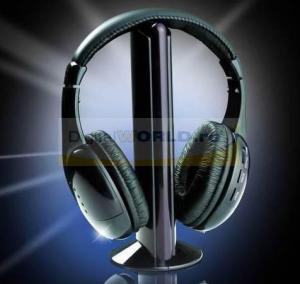 Casti wireless cu radio