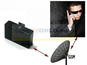 Microfon spion GSM pentru monitorizare audio de la distanta