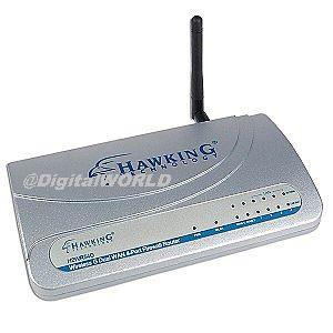 Router Wireless DUAL WAN (doua conexiuni Internet simultan), Hawking H2WR54G