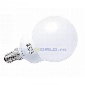 Bec economic cu LED-uri 1.9W, E14, lumina calda, echivalent bec 25W