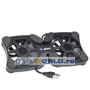 Cooler pad pliant pentru notebook sau laptop
