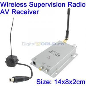 Camera miniatura wireless pentru supraveghere, spion spy