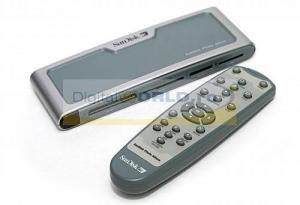 Media Player cu iesire TV, cu reader incorporat si telecomanda, SanDisk Photo Album