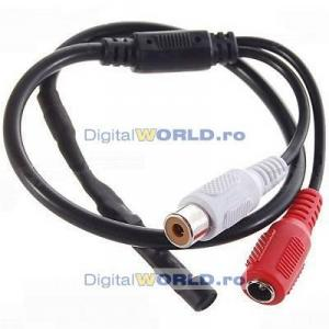 Microfon pentru camere si sisteme de supraveghere