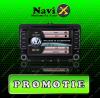 PROMO Navigatie VOLKSWAGEN Navi-X GPS - DVD - CARKIT - USB