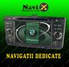 Navigatie skoda octavia 2 navi-x gps - dvd - carkit