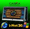 Navigatie Multimedia CASKA GPS - DVD - Carkit - Internet