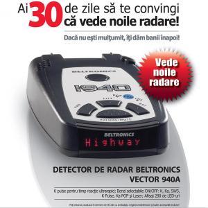 Beltronics vector 940a