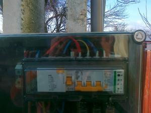 Conectare la electricitate