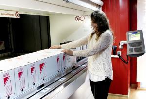 ARHISAFE - sistem automatizat de arhivare