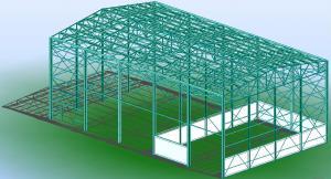 Profile hale industriale