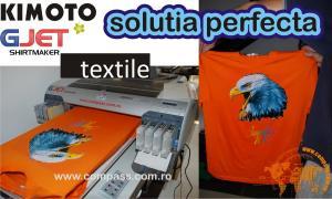 Servicii imprimari serigrafice pe textile