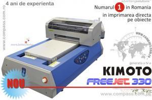 Imprimanta serigrafie 3d flatbed