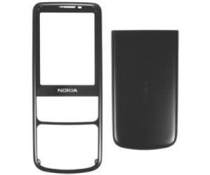 Carcase Carcasa Nokia 6700c Neagra,Originala , Fata + Capac Baterie.