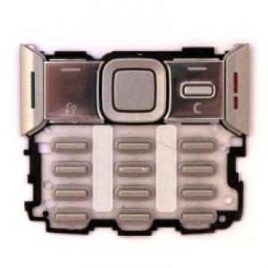 Tastaturi tastatura nokia n82 argintie
