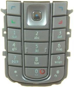 Tastaturi Tastatura Nokia 6230i argintie originala