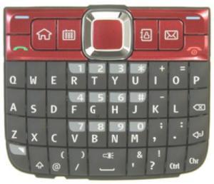 Tastatura nokia e63 rosie originala
