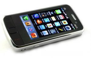 Telefon Dual SiM TINNO KT01 cu TV si WiFi (WLAN), Meniu in Limba ROMANA -negru