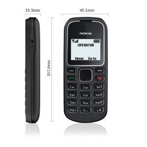Telefon nokia 1280 black