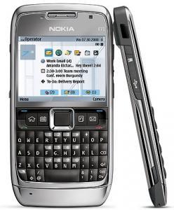 Telefon nokia e71 grey steel