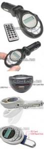 MP3 FM Modulator - afisaj LCD+telecomanda