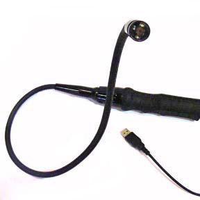 Camera flexibila tip sarpe