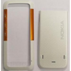 Carcase Carcasa Nokia 5310 alb+orange