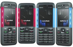 Nokia 5610 red