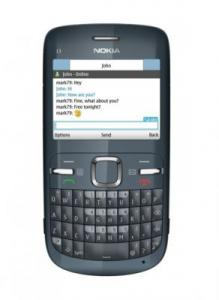 Telefon nokia c3 slate grey