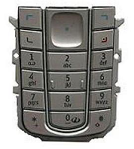 Tastaturi Tastatura Nokia 6230 argintie originala